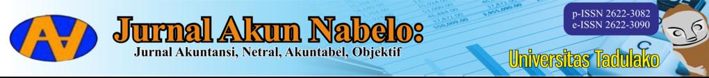 Jurnal Akun Nabelo: Jurnal Akuntansi Netral, Akuntabel, Objektif